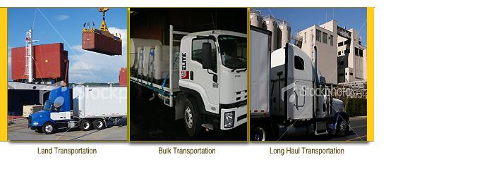 Services    Transportation Management :: Elite International